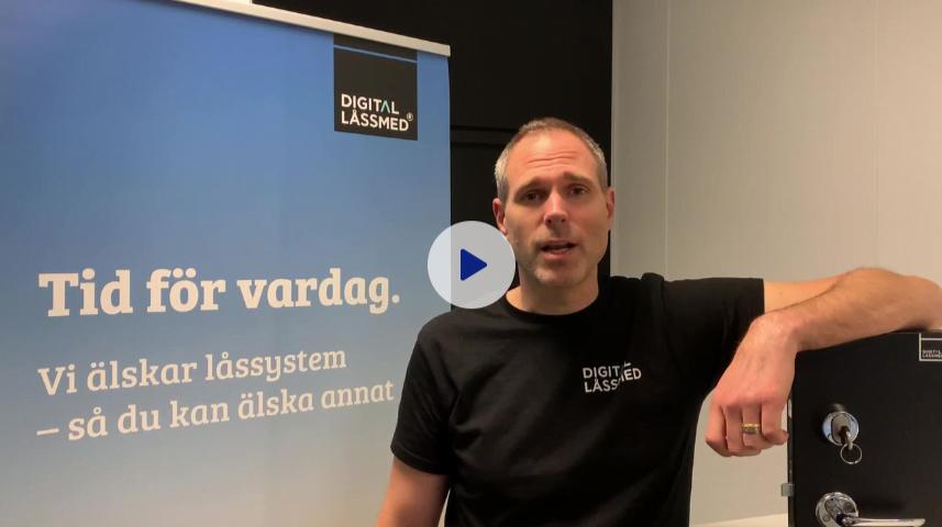 Webinar Digital Låssmed® Lås & Nyckel i Gävle